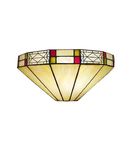 Dale Tiffany Mission Filigree Wall Sconce 1 Light 8693/1LTW photo
