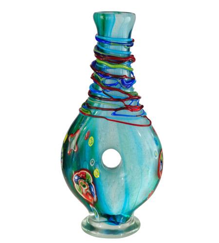 Dale Tiffany Av13098 Windlin 18 X 8 Inch Vase