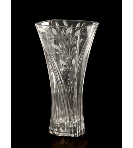 Dale Tiffany GA80036 Crystal Leaf Vase photo