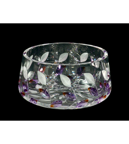 Dale Tiffany GA80043 Lavender Leaf Bowl photo