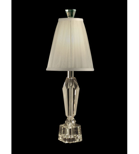 Dale Tiffany Crystal 1 Light Accent Lamp in Brushed Nickel GA80247 photo