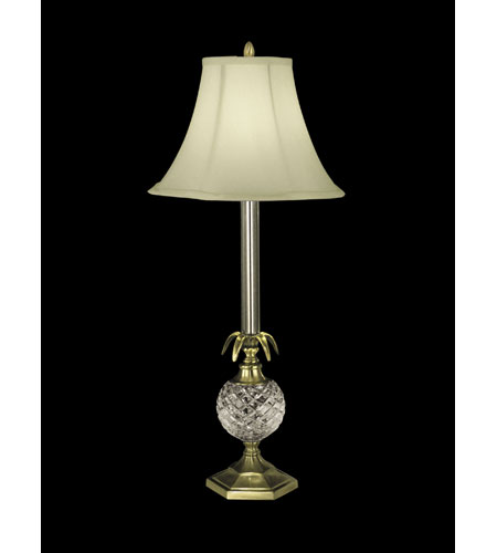 Dale Tiffany Pineapple Buffet Lamp 1 Light in Antique Brass GB10358 photo