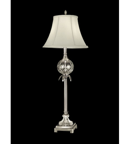 Dale Tiffany Hudson Buffet Lamp 1 Light in Antique Pewter GB10365 photo