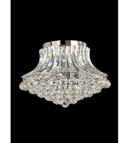 Dale Tiffany Starling 6 Light Chandelier in Polished Chrome GH10124 photo