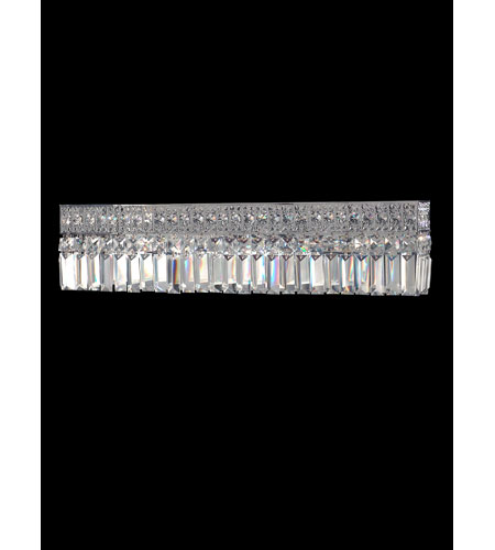 Dale Tiffany Berlin Crystal Vanity Wall Sconce 3 Light in Polished Chrome GH10330 photo