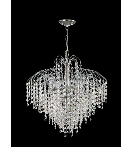 Dale Tiffany Massa 6 Light Chandelier in Polished Chrome GH70249 photo