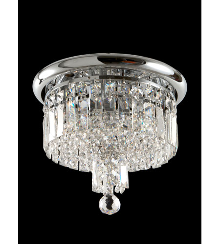 Dale Tiffany Tilburg 3 Light Flush Mount in Polished Chrome GH70267 photo