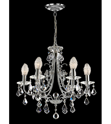 Dale Tiffany GH70288 Indiana Ice 6 Light 21 inch Polished Chrome Chandelier Ceiling Light photo