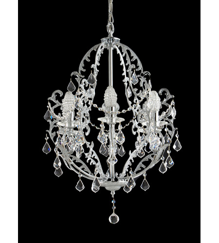 Dale Tiffany Buchanon 6 Light Chandelier in Polished Chrome GH70380 photo
