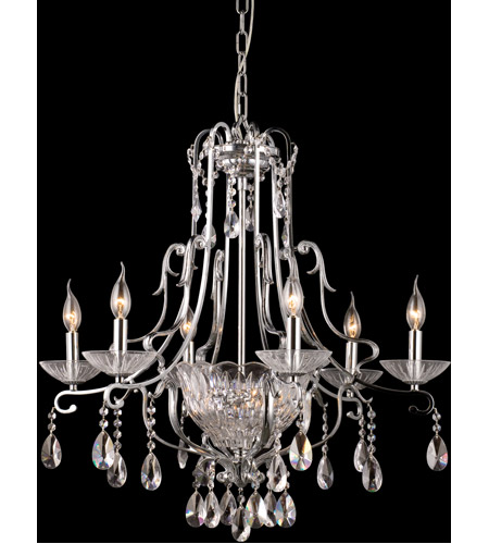 Dale Tiffany Oxford 8 Light Chandelier in Polished Chrome GH90092 photo