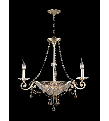 Dale Tiffany St Ives Chandelier 6 Light in Gold Plated GH90110 photo