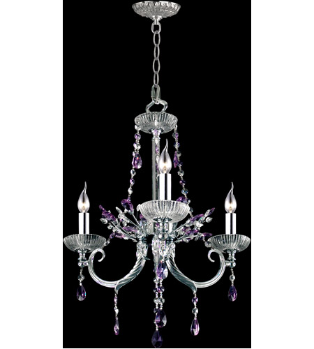 Dale Tiffany Polished Chrome Metal Chandeliers