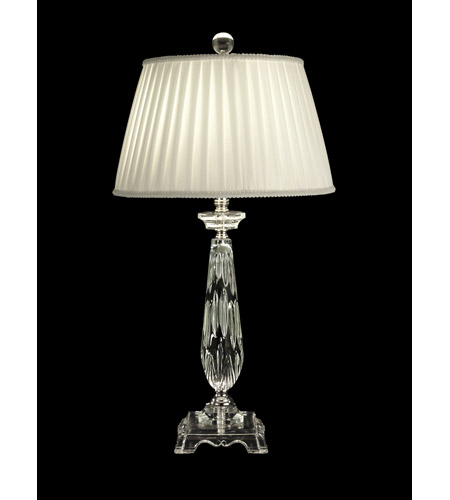 Dale Tiffany Seymour Table Lamp 1 Light in Polished Chrome GT10010 photo