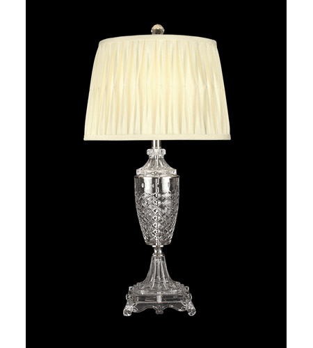 Dale Tiffany Norris Table Lamp 1 Light in Nickel GT10226 photo