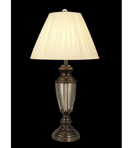 Dale Tiffany Nigel Crystal Table Lamp 1 Light in Oil Rubbed Bronze GT11221 photo