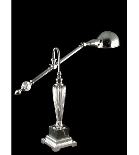 Dale Tiffany Terrassa Table Lamp 1 Light in Polished Chrome GT60617 photo