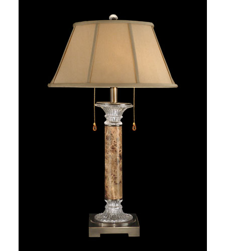 Dale Tiffany Savannah Table Lamp 2 Light in Black/Antique Brass GT60624 photo