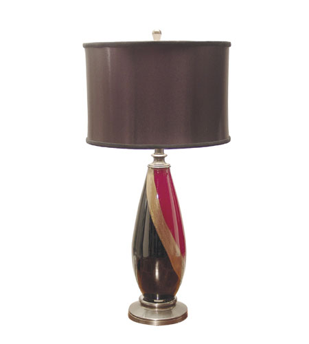 Dale Tiffany Sophistication Table Lamp 1 Light in Dark Antique Bronze GT701182 photo