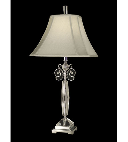 Dale Tiffany Sebec Table Lamp 1 Light in Polished Chrome GT70384 photo