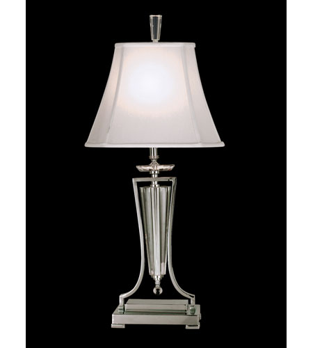 Dale Tiffany Georgetown Table Lamp 1 Light in Polished Chrome GT70425 photo