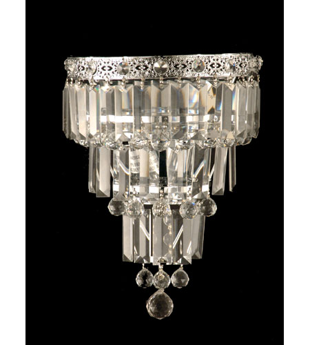 Dale Tiffany Bradford Wall Sconce - Small 2 Light in Polished Chrome GW10732 photo