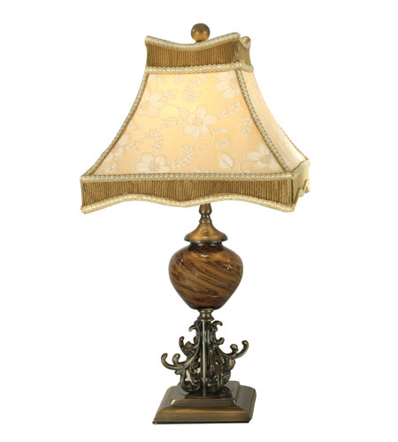 Dale Tiffany San Felipe Table Lamp 1 Light in Nickel PG80333 photo