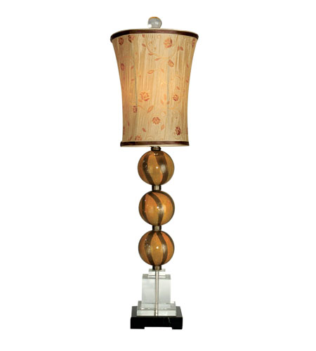 Dale Tiffany Doheny 1 Light Buffet Lamp in Antique Brass PG90080 photo