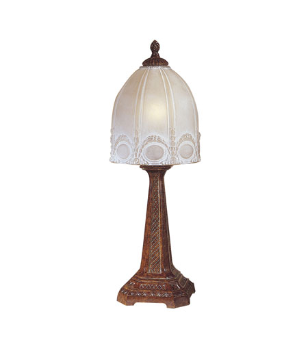Dale Tiffany Courtlyn Table Lamp 1 Light in Hawaii Bronze PT100525 photo