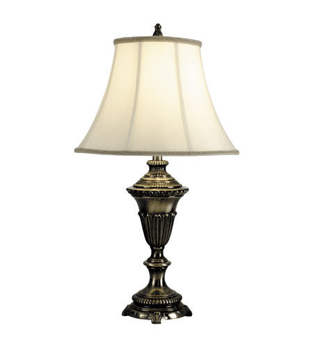 Dale Tiffany Carter Table Lamp 1 Light in Antique Pewter PT90284 photo