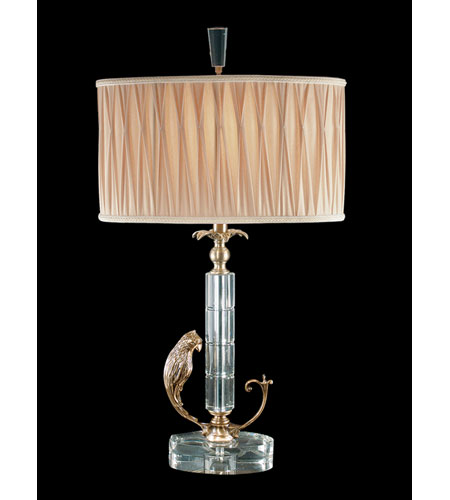 Dale Tiffany Carolina Table Lamp 1 Light in Antique Brass RT70424 photo
