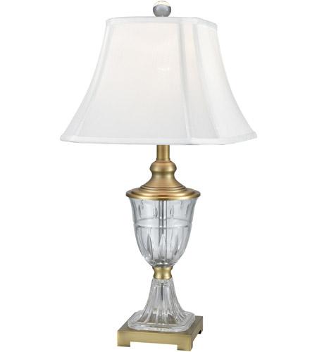 Dale Tiffany Sgt17159 Walker 27 Inch 150 Watt Golden Antique Brass Table Lamp Portable Light