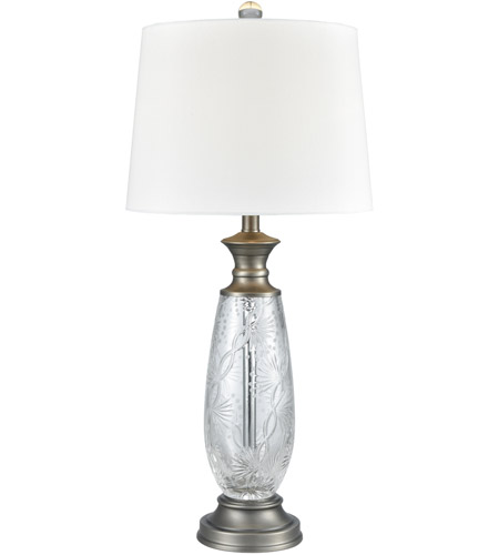 Dale Tiffany SGT17163 Impressionable 31 inch 150 watt Antique Nickel Table Lamp Portable Light