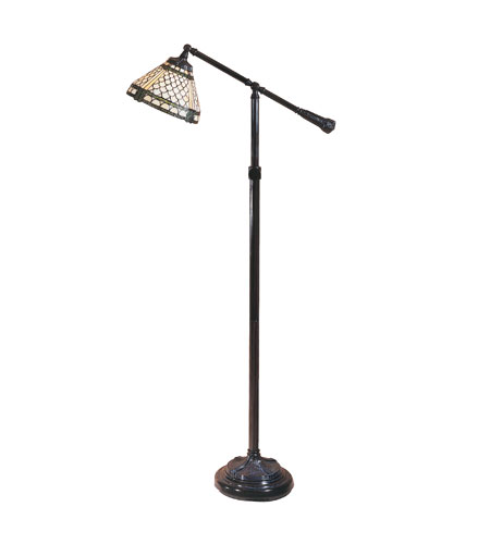 Dale Tiffany Manchester Task Floor Lamp 1 Light in Mica Bronze TF100022 photo