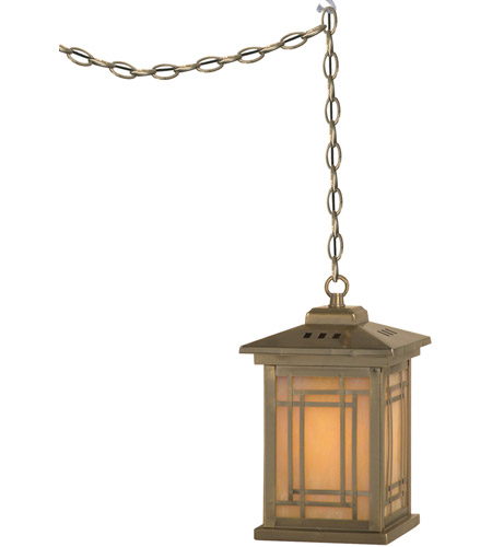 Dale Tiffany TH10890 Mission 1 Light 5 inch Antique Brass Plating Pendant Ceiling Light photo