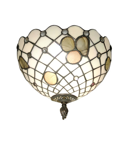Dale Tiffany Newport Wall Sconce 1 Light TH70107 photo