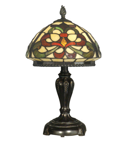 Dale Tiffany Tiffany Table Lamp 1 Light in Fieldstone TT10065 photo