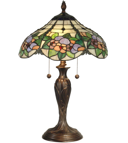 Dale Tiffany Chicago Table Lamp 2 Light