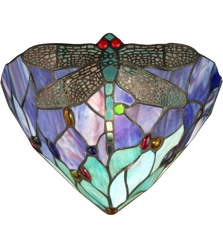 Dale Tiffany Dragonfly Jewel Wall Sconce 1 Light TW12062 photo