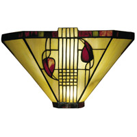Dale Tiffany 2725/1LTW Henderson 1 Light 14 inch White Wall Sconce Wall Light photo thumbnail
