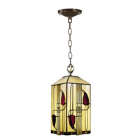 Dale Tiffany Henderson Mackintosh Foyer Fixture 1 Light in Antique Brass 2727/1LTA