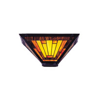 Mission 2 Light 15 inch White Wall Sconce Wall Light