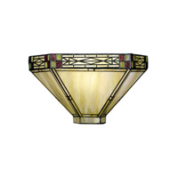 Dale Tiffany Dana Mission Wall Sconce 1 Light 8676/1LTW