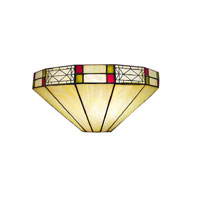 Dale Tiffany Mission Filigree Wall Sconce 1 Light 8693/1LTW