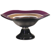 Dale Tiffany Melrose Footed Bowl AG500285