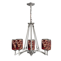Dale Tiffany Windslow 5 Light Pendant in Satin Nickel AH15012