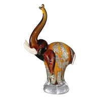 Dale Tiffany Art Glass Elephant Figurine AS11106