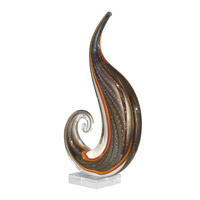 Dale Tiffany Art Glass Scroll Sculpture AS11110