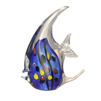 Dale Tiffany Blue Angel Fish Teapots AS12046
