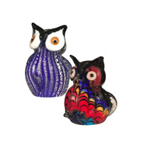 Dale Tiffany 2-Piece Owl Figurines AS12050