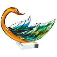 Dale Tiffany AS14073 Swan 10 X 7 inch Bowl Sculpture